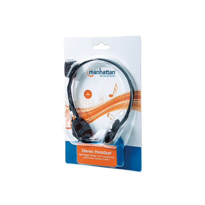 Diadema Manhattan Stereo Headset (164429) - Rivers Systems