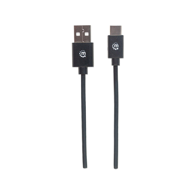 Cable Manhattan USB C - USB 1 M (353298) - Rivers Systems