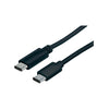 Cable Manhattan USB C - USB C 1 M (353342) - Rivers Systems