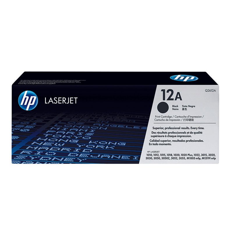 Cartucho de Toner 12A - Rivers Systems
