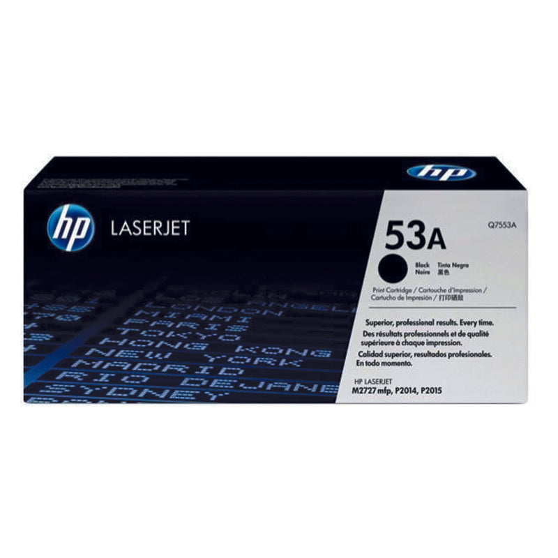 Cartucho de Toner 53A - Rivers Systems