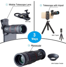 Load image into Gallery viewer, Telescope Camera Lens for Mobile Phone