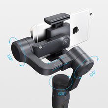 Load image into Gallery viewer, Gimbal Extendable Phone and GoPro Video Stabilizer