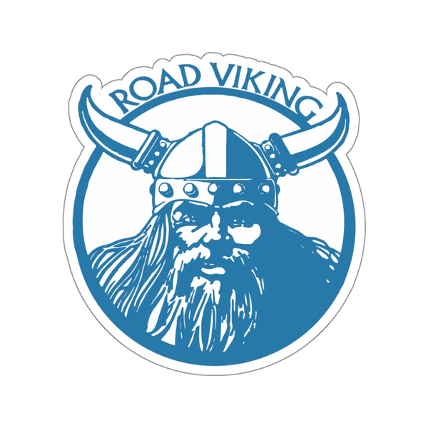 """Road Viking"" Kiss Cut Sticker"