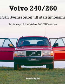 Book - A History of the Volvo 240 Series FREE SHIPPING