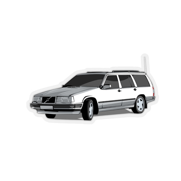 Volvo 950 Wagon White Sticker