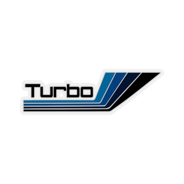 """Turbo Nordica"" Black Decal Sticker"