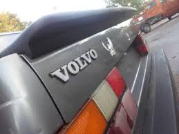 Volvo 740 Sedan Ducktail Spoiler