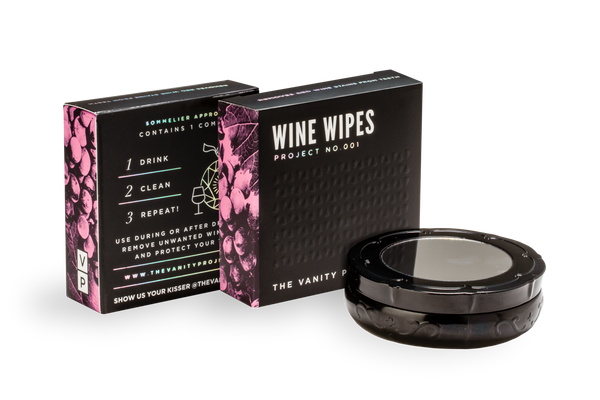 Wine Wipes Featured in BYRDIE: 5 Ways to Prevent & Fix Red Wine Smile
