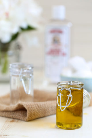 honey makeup remover diy