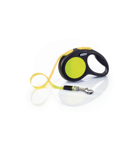 Flexi Neon Extendable Cord Lead