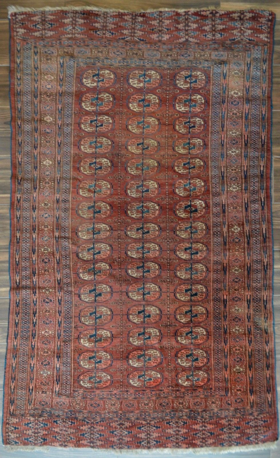 Antique Tekke Rug - 5' x 7'11