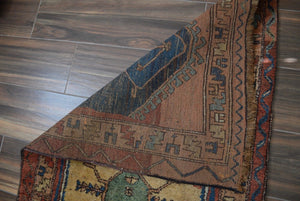 "Antique Serab Small Runner Rug - 3'5"" x 7'6"" - Heriz & Merchant Rugs"