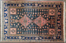 "Load image into Gallery viewer, Antique Lilihan Rug - 4'10"" x 7'5"" - Heriz & Merchant Rugs"
