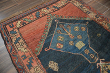 "Load image into Gallery viewer, Antique Serab Small Runner Rug - 3'5"" x 7'6"" - Heriz & Merchant Rugs"