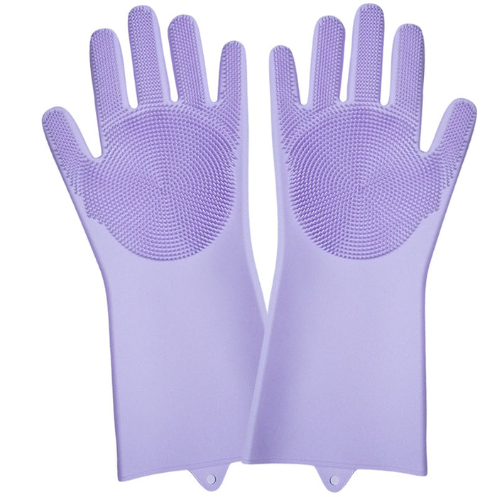 (Get 2 Save $5 & Free Shipping, Get 3 Save $10)Magic Silicone Dishwashing Gloves