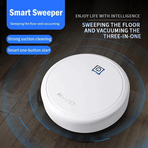 (Free Shipping) New smart sweeping robot home sweeping clean vacuum cleaner three-in-one