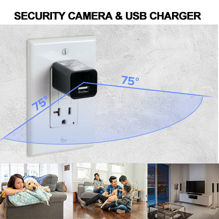 42% off !!! Discreet Security Camera & USB Charger
