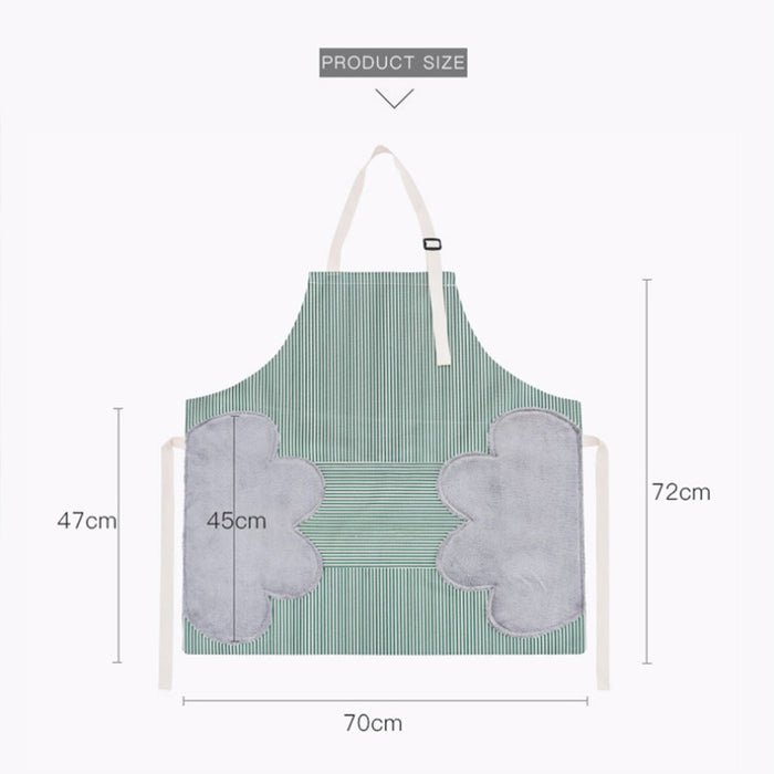 (Get 2 Save $5 & Free Shipping, Get 3 Save $10)Erasable Hand Waterproof Apron