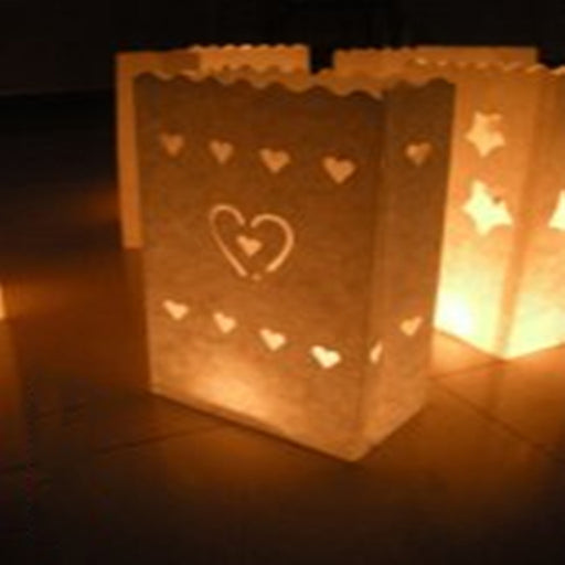 Christmas Decoration Flame Retardant Paper Candle Bag