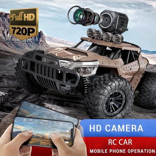 (Free Shipping) High-speed remote control car off-road high-definition camera military car  climbing RC car