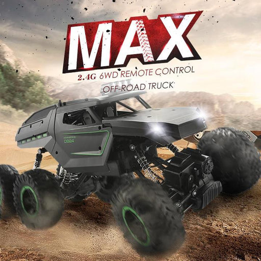 (Free Shipping)1:12 MAX six-wheel drive off-road outdoor remote control car climbing charging  car