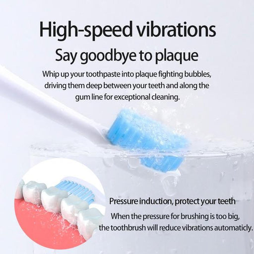 (Free Shipping)Smashsea Electric UltrasonicToothbrush Magnetic Suspension Sonic Rechargeable
