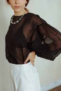 ENFÖLD: Sheer Blouse