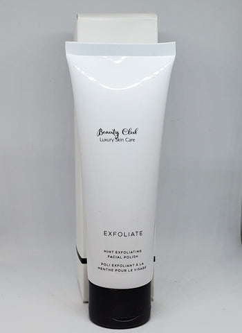 Mint exfoliating polish