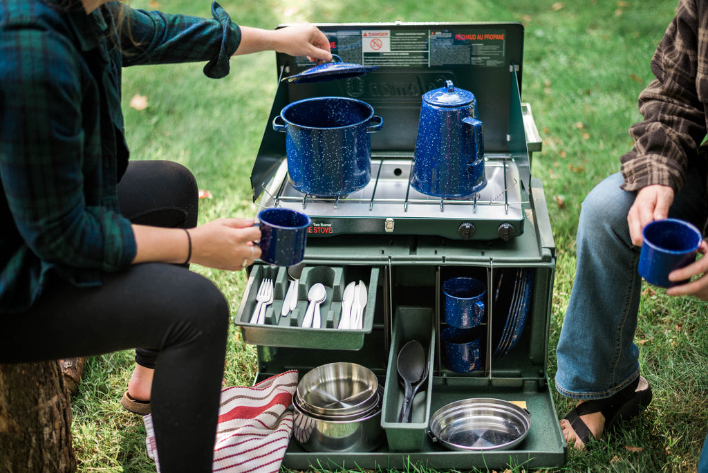 The Chuck Box Camp Kitchen - The Ultimate Portable Camp Kitchen Box