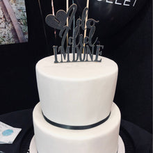 Load image into Gallery viewer, Divorce Party Cake Toppers - Just Divorced