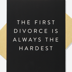 The First Divorce - Gift Card - Just Divorced
