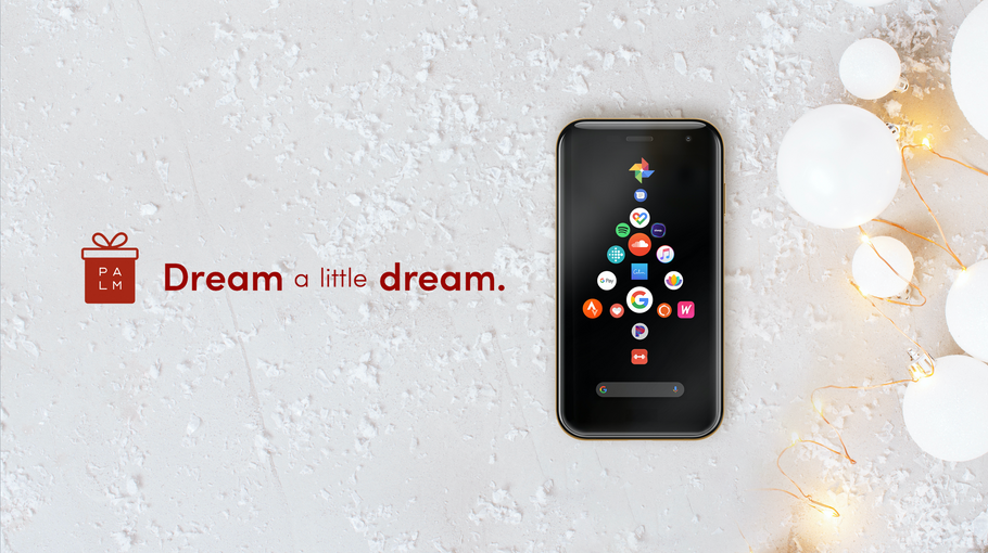 Dream a Little Dream with Palm this Holiday