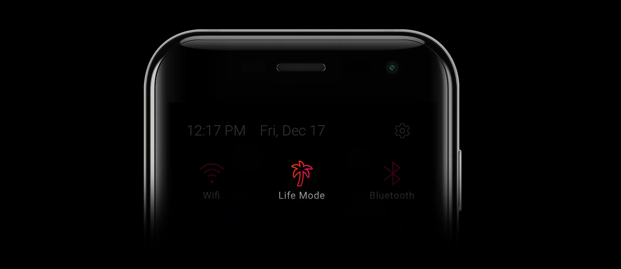 Life Mode on Palm best small smartphone