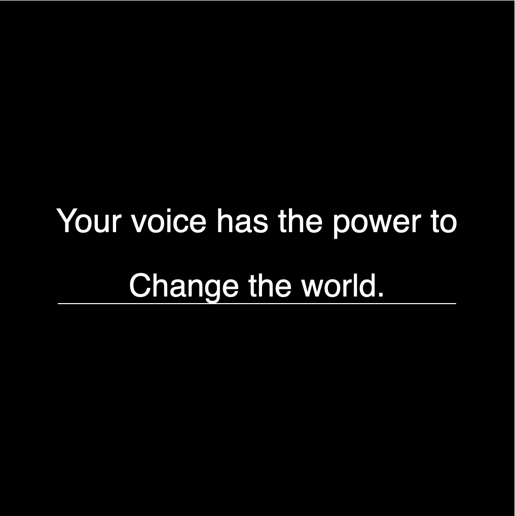 #UseYourVoice with Palm