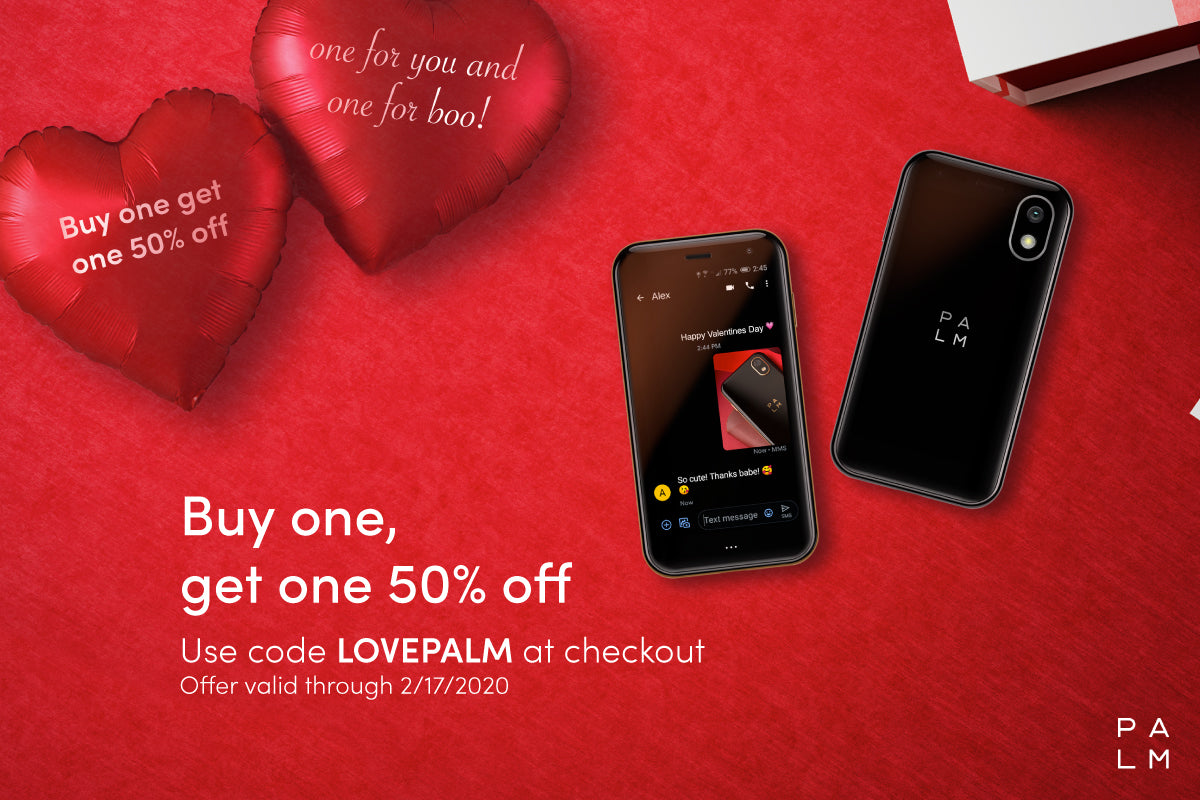 Palm smartphone BOGO sale