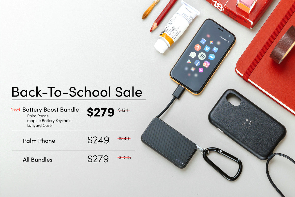 Palm smartphone Back-To-School sale