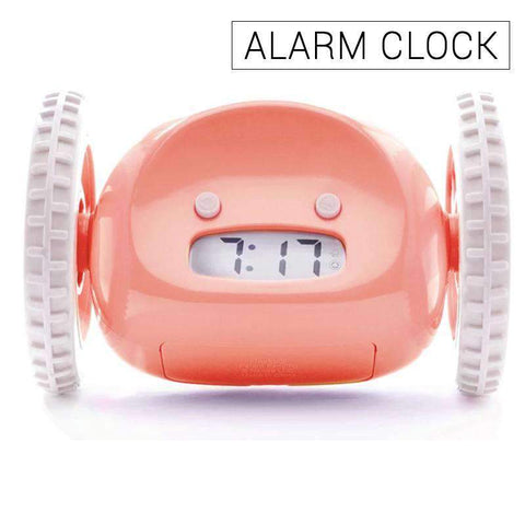 Runaway Alarm Clock Digital LCD Running