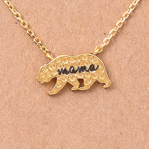 Load image into Gallery viewer, Mama Bear Necklace