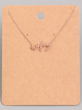 Load image into Gallery viewer, Wifey Necklace