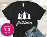 Folklore T-Shirt - Nature Plants Shirt