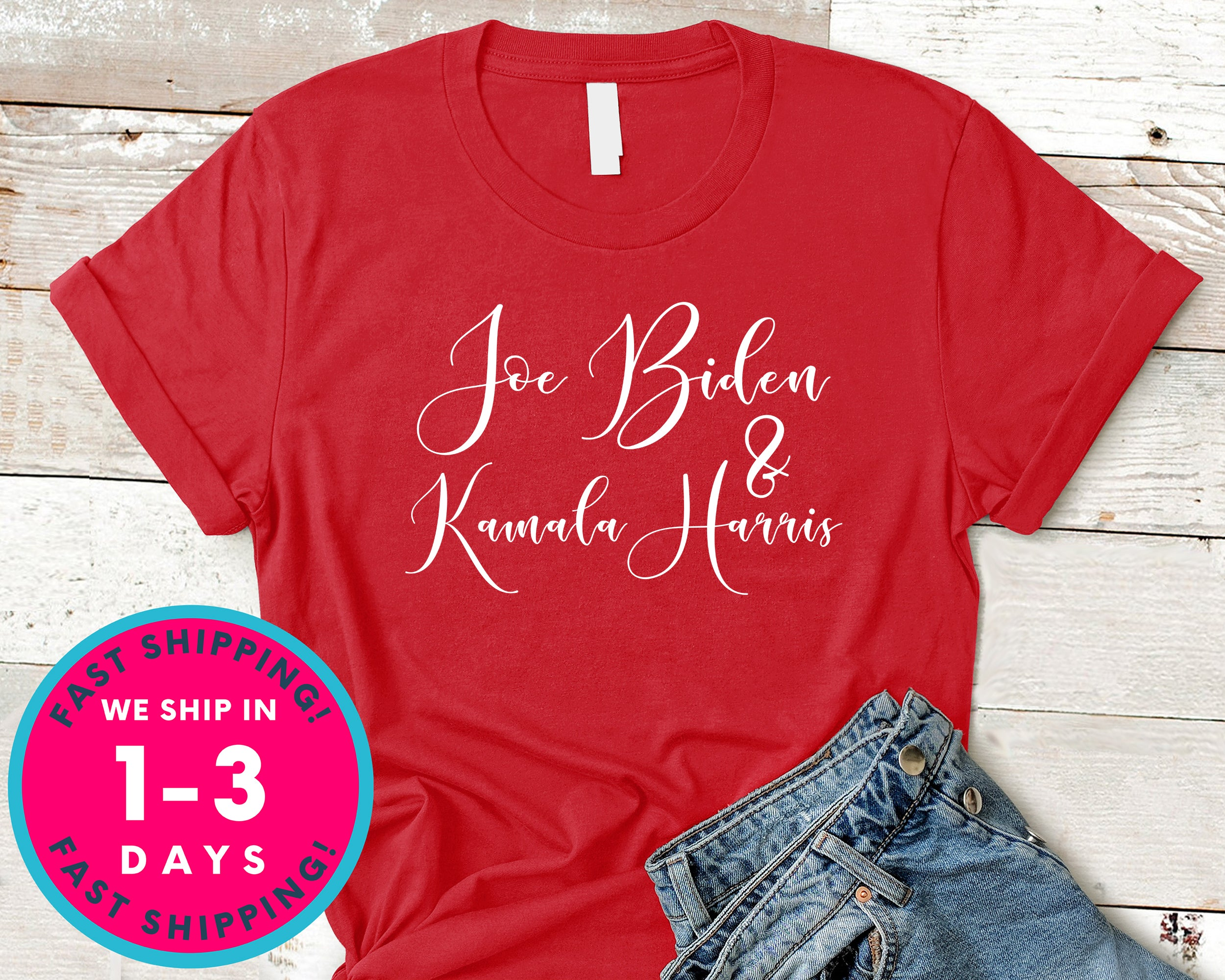 Joe Biden And Kamla Harris T-Shirt - Political Activist Shirt