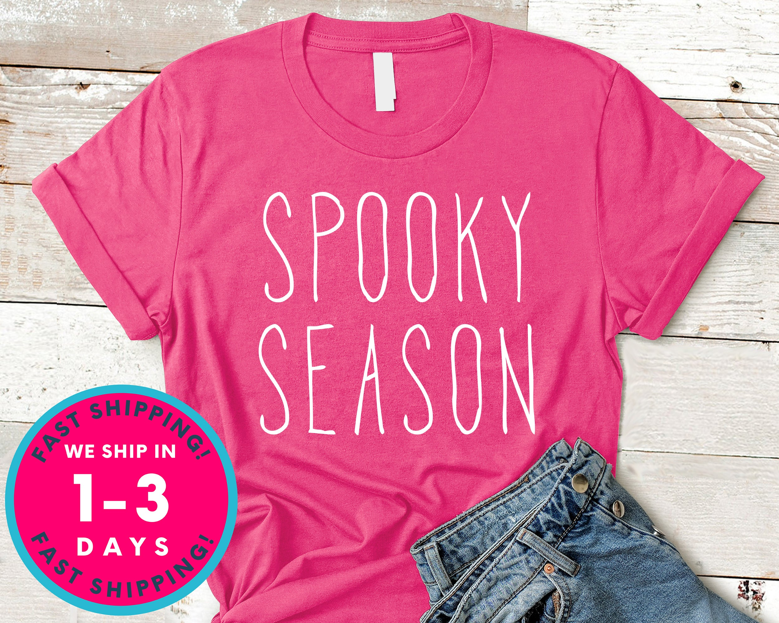 Spooky Season T-Shirt - Halloween Horror Scary Shirt