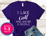 Always Wash Your Balls Funny Golf Tee T-Shirt - Sports Shirt