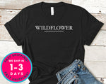 Wildflower T-Shirt - Nature Plants Shirt