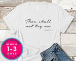 Thou Shalt Not Try Me Mood 24 7 T-Shirt - Funny Humor Shirt