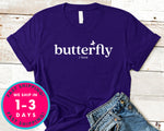 Butterfly T-Shirt - Animals Shirt
