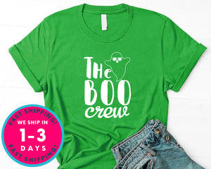 The Boo Crew T-Shirt - Halloween Horror Scary Shirt