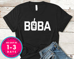 Boba Milk Tea Drink T-Shirt - Food Drink Shirt