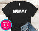 Halloween Mummy (couple Tee) T-Shirt - Halloween Horror Scary Shirt
